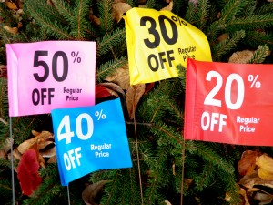 Fall Sale Flags