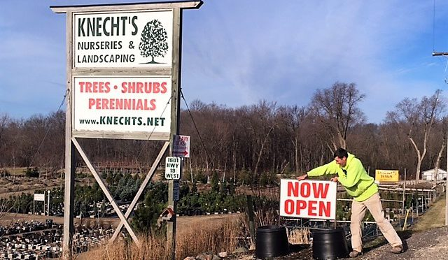 Spring OPEN at Knecht's!